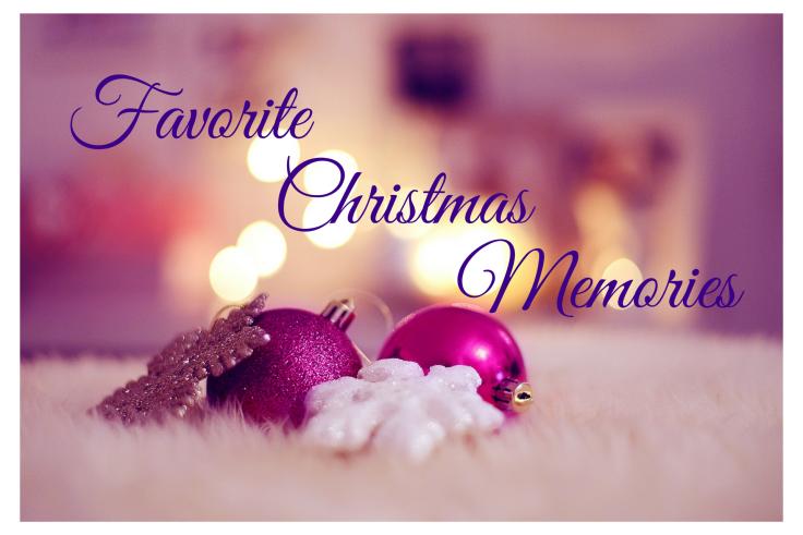 Favorite Christmas Memories banner