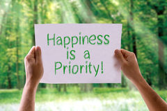 happiness-priority-card-nature-background-52115781